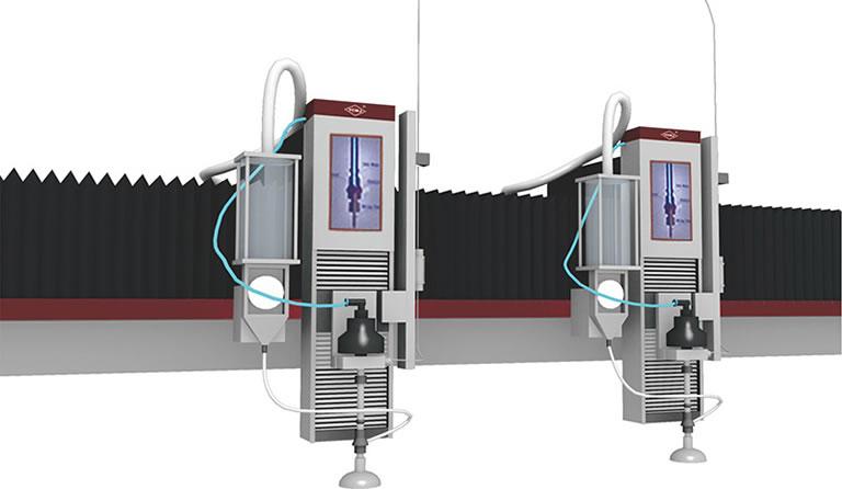 1 2 4 multi head 01 - Гидроабразивный станок с ЧПУ YC Waterjet