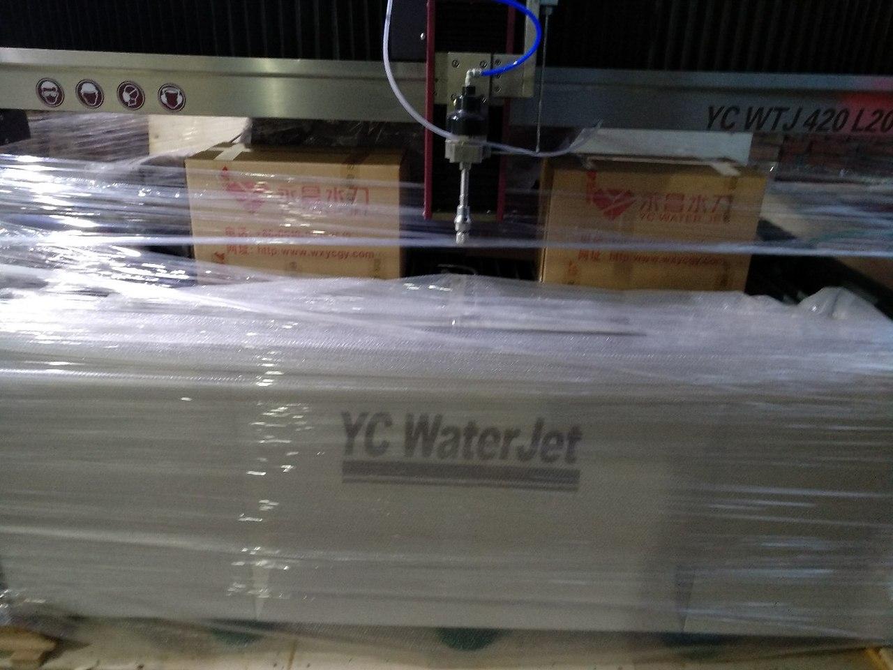 C8CbasA6cuQ - Гидроабразивный станок с ЧПУ YC Waterjet