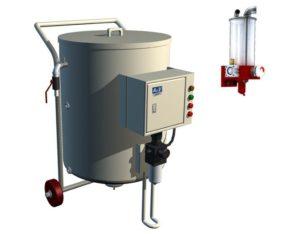 Feeder and abrasive feeding system 300x234 1 - Гидроабразивный станок с ЧПУ APW