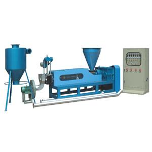 3 1b - Процесс превращения полимеров в гранулу. Линия грануляции.